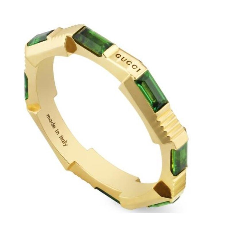 Gucci Link to Love tourmaline ring