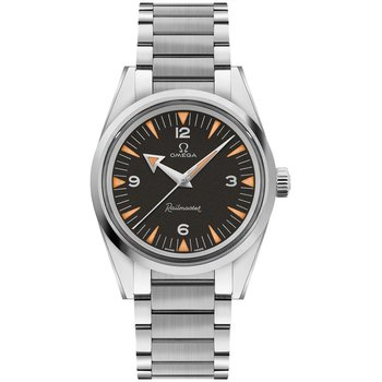 RAILMASTER OMEGA CO-AXIAL MASTER CHRONOMETER 38 MM The 1957 Trilogy