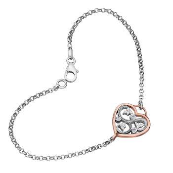 Shelley Purdy Diamond Heart Bracelet