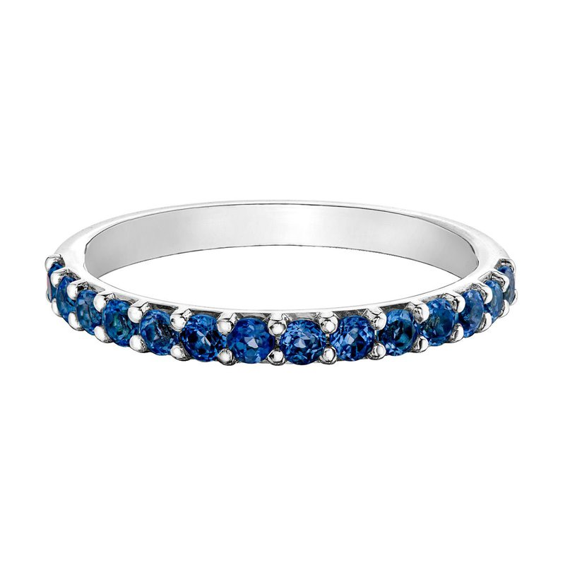 Ashley Ladies Synthetic Sapphire Band