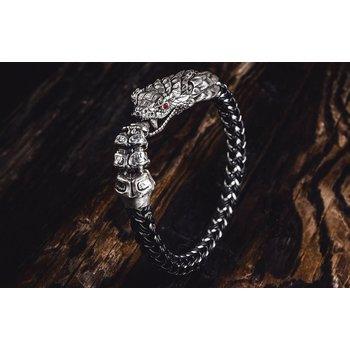 Full Circle Snake Bracelet