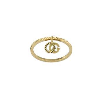 GG Running Yellow Gold 18k Ring