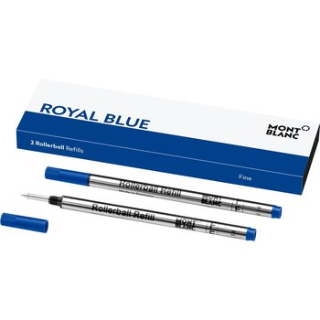 Rollerball Refill In Royal Blue/Fine - 2 Pack