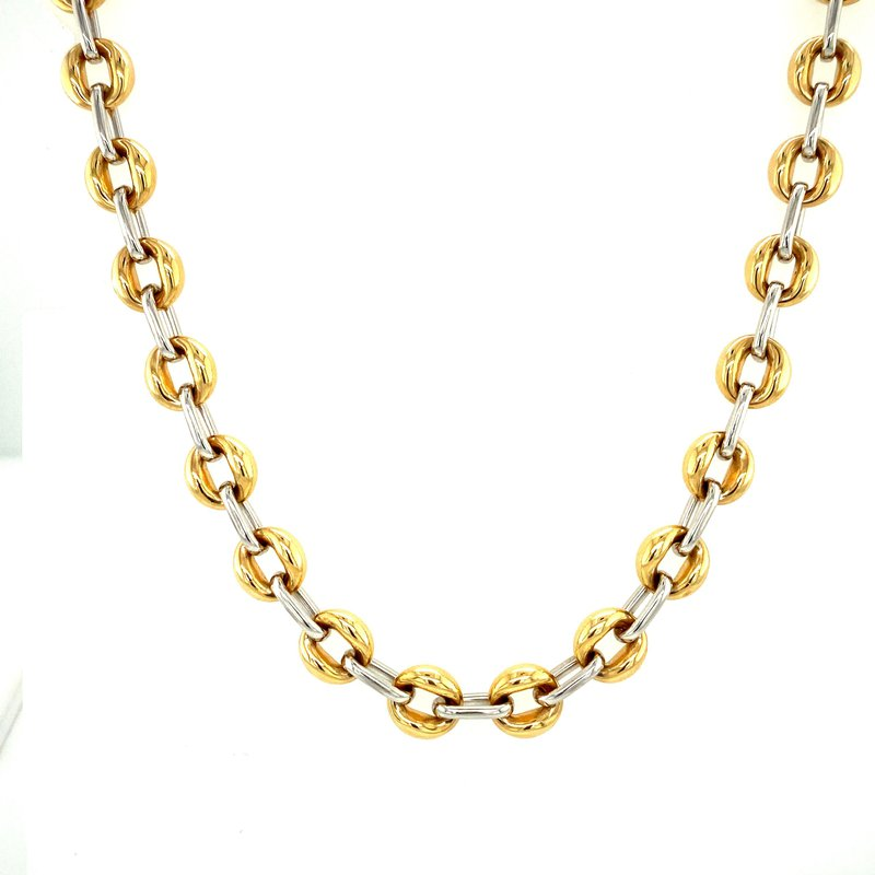 Ashley Two Tone Gold Chain