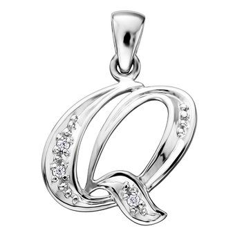 Diamond Initial Q Charm
