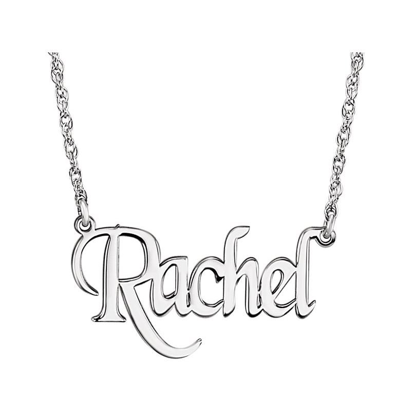 Ashley Name Plate Necklace