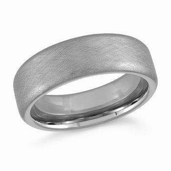 7mm Tungsten Wedding Band Size 10