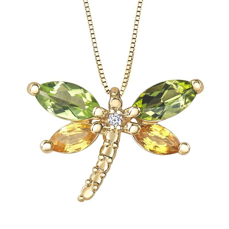 Ashley Dragonfly Necklace