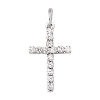 Cubic Zirconia Cross