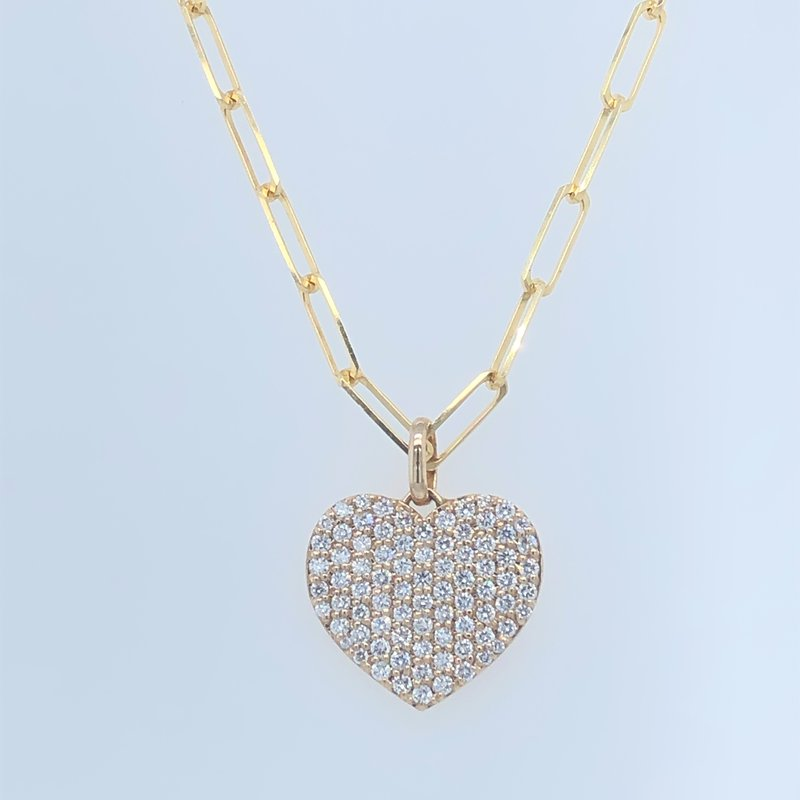 Holiday Collection Diamond Heart Pendant Necklace