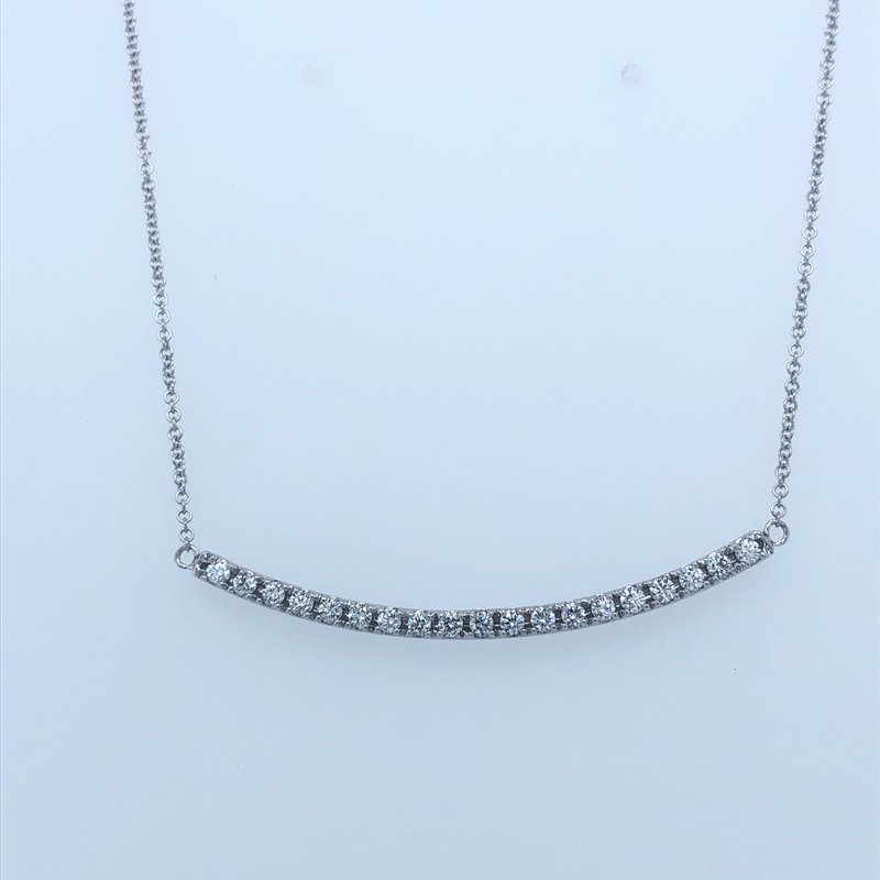 Holiday Collection Diamond bar necklace