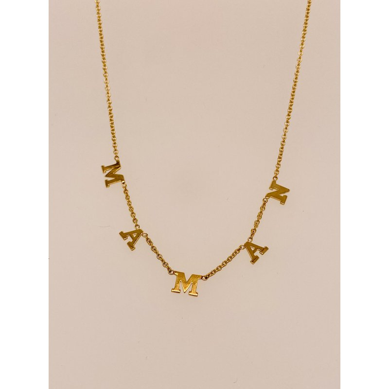 Holiday Collection 'Maman' necklace