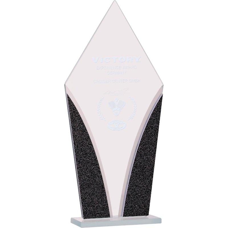Plaques & Awards Glass Diamond Designer Award