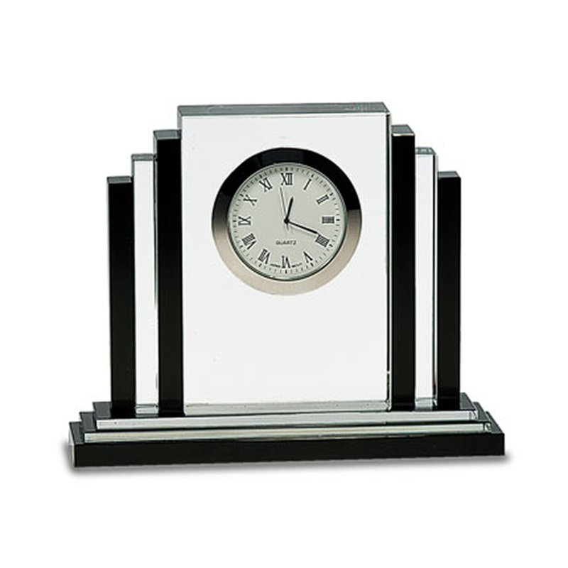 Plaques & Awards Crystal Clock