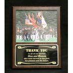 Plaques & Awards Cherry Finish Photo Plaque