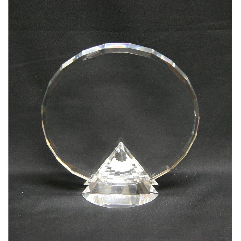 Plaques & Awards Crystal on Diamond Base