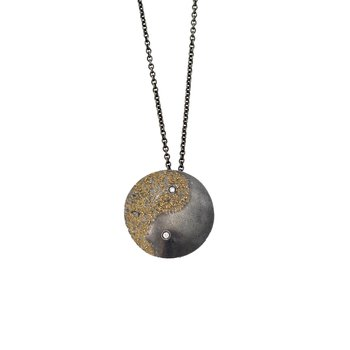 """Yin Yang"" Necklace"
