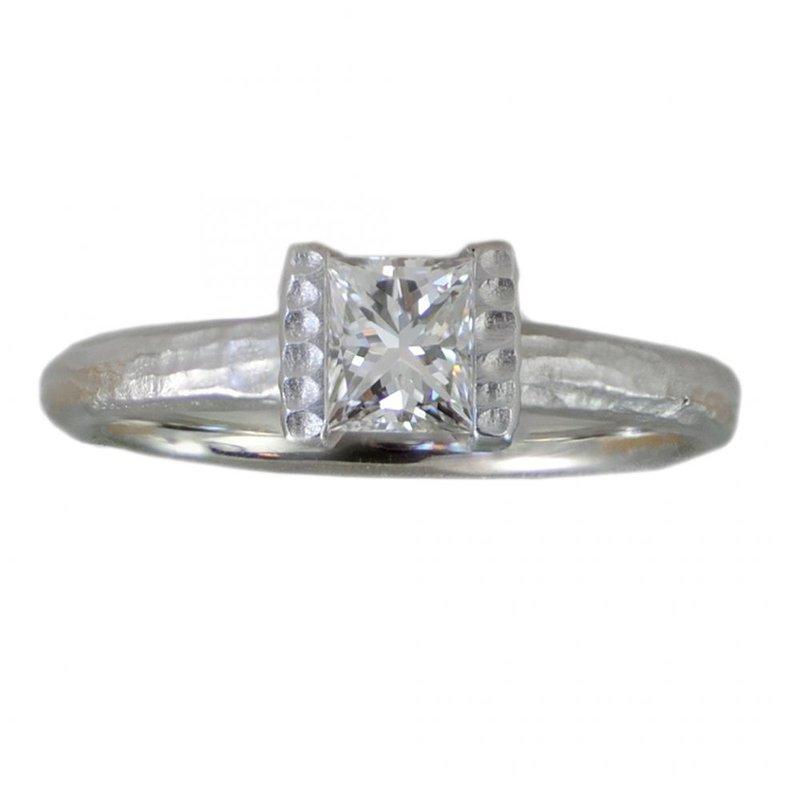 Michael Endlich Designs Diamond (0.55ct) Ring in Platinum