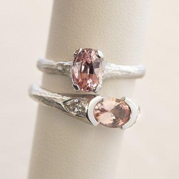 Sapphire (1.42ct) Ring in Platinum