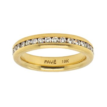 Eternity Band in 18K Gold