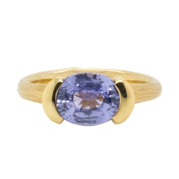 Sapphire (3.16ct)  Ring 18K Gold