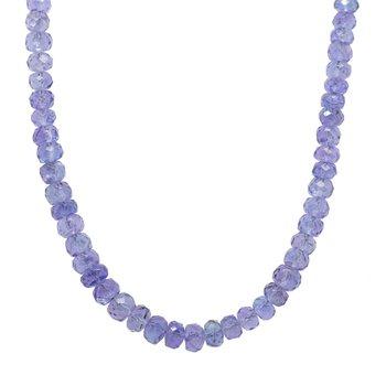 Tanzanite Strand Necklace