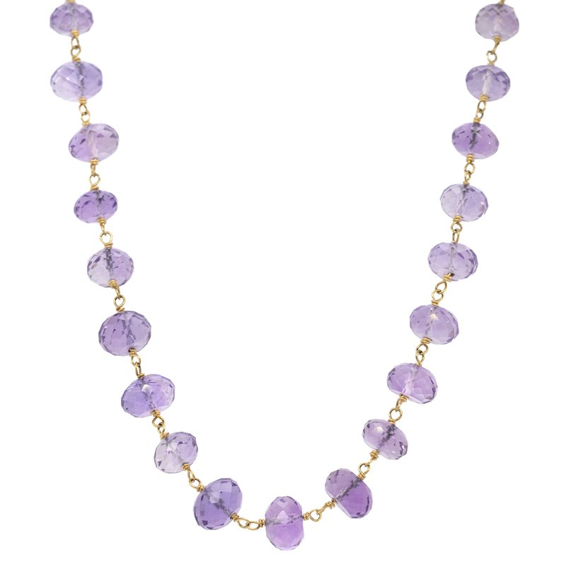 Extended Collection Amethyst Necklace