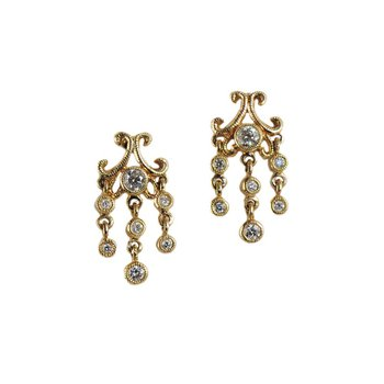 Chandelier Stud Earrings