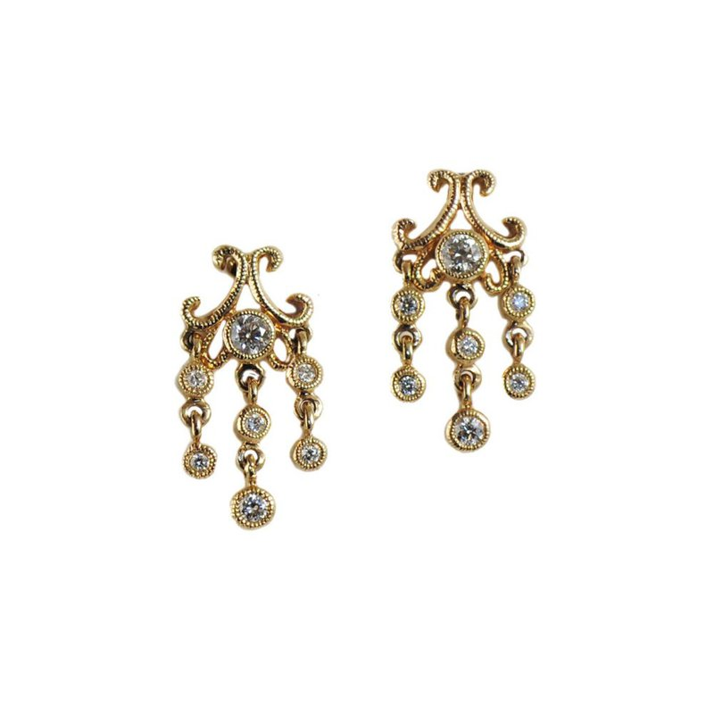 Extended Collection Chandelier Stud Earrings