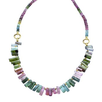 "Tourmaline ""Sticks"" Necklace"