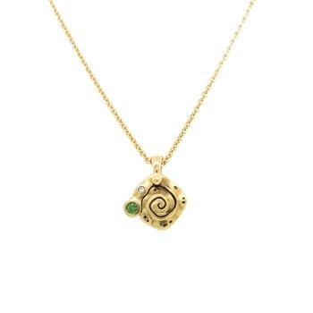 """""""Flora"""" Pendant Necklace"""