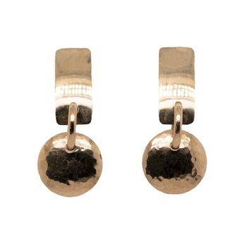 Geometric Dangle Earrings