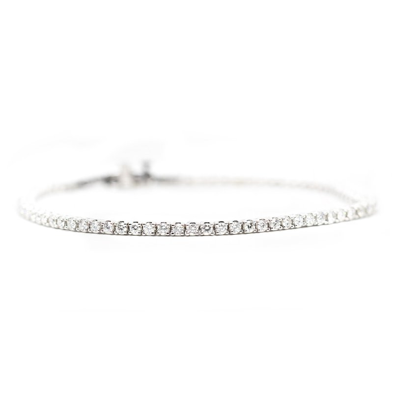 Extended Collection Diamond (2.05ctw) Tennis Bracelet in White Gold