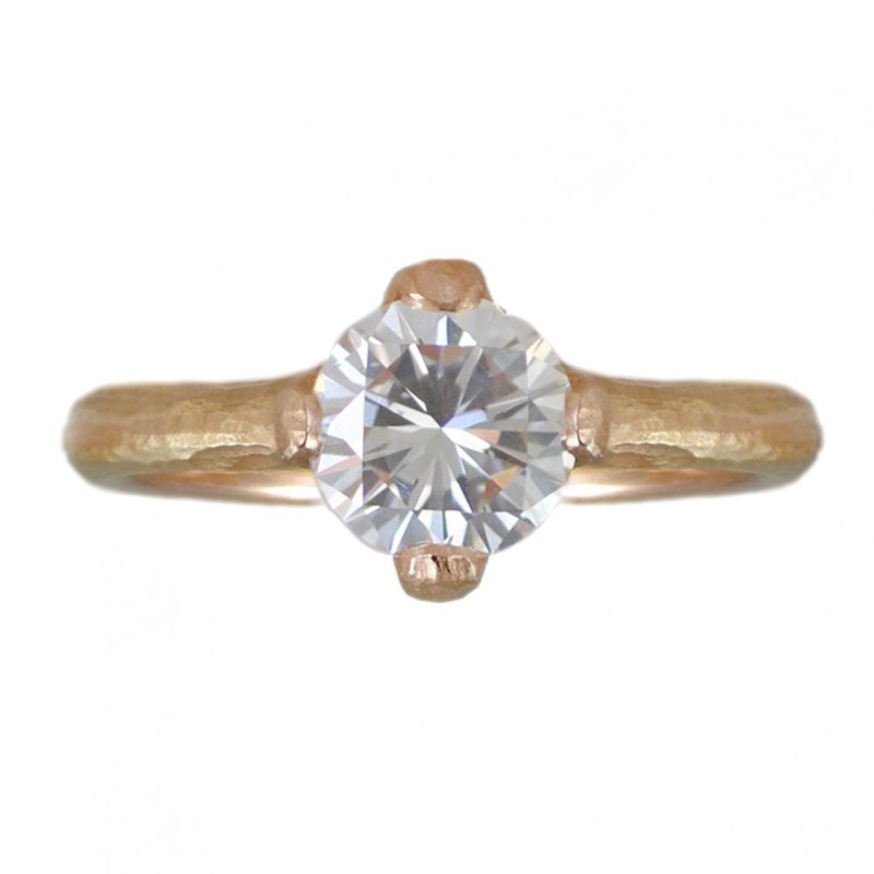Michael Endlich Designs Diamond (1.09ct) Ring in 18K Rose Gold