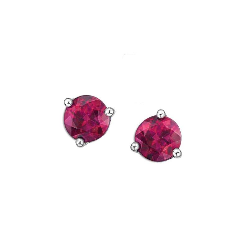 Corona Pink Topaz Earrings