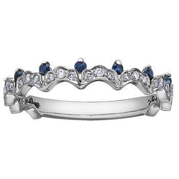 Sapphire Ladies Ring
