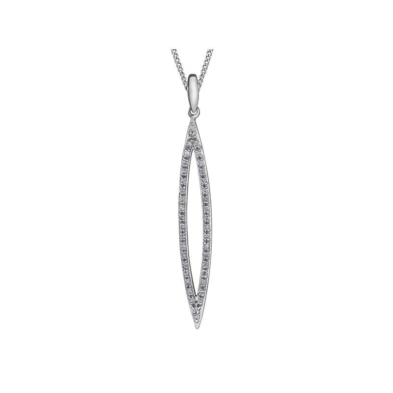 Corona Diamond Pendant