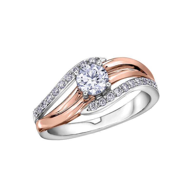 Corona I am Canadian™ Diamond Ladies Engagement Ring