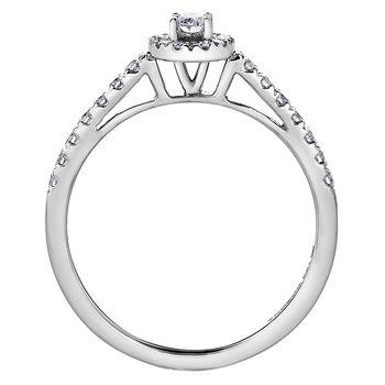Diamond Ladies Engagement Ring