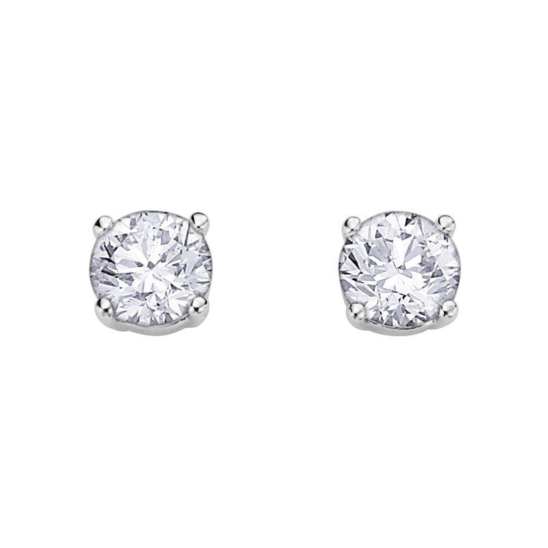 Corona I am Canadian Diamond Stud Earrings