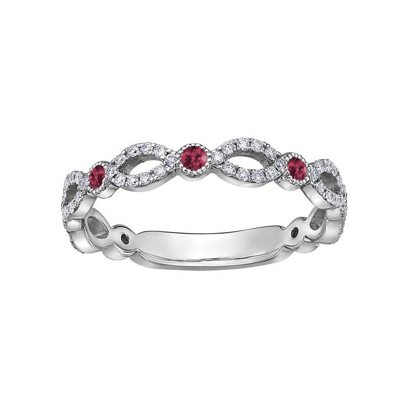 Corona Ruby Ladies Ring