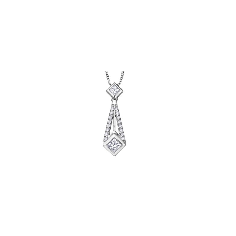 Corona Diamond Pendant