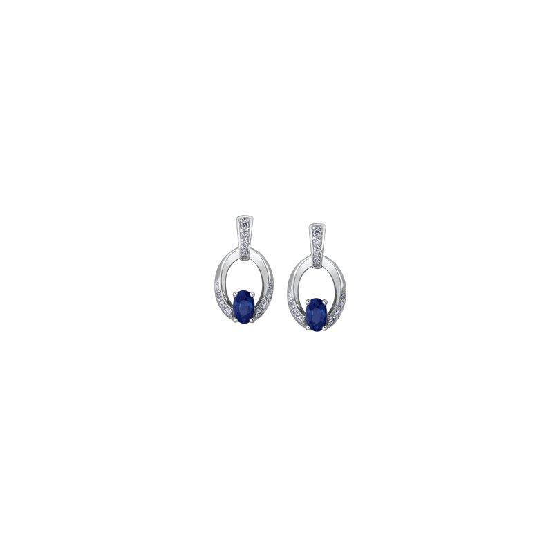 Corona Sapphire Earrings