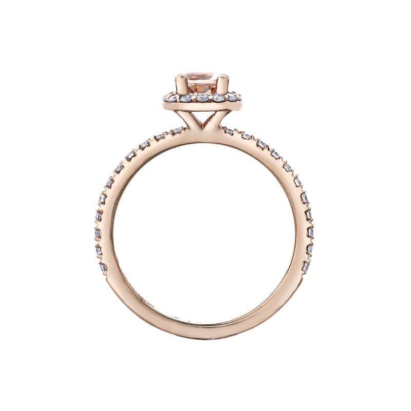 Corona Morganite Ring