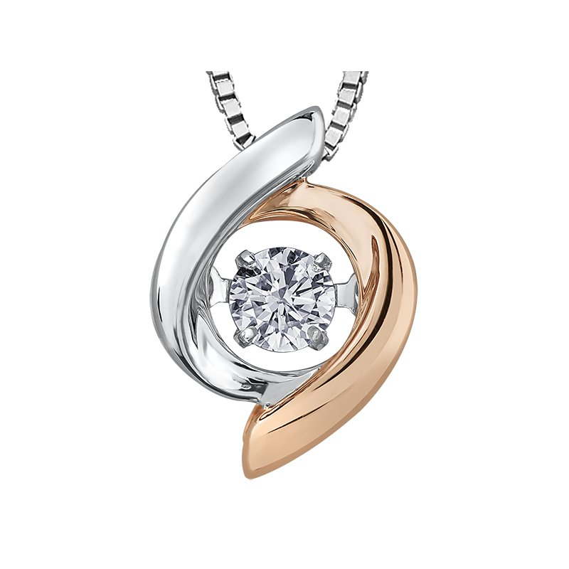 Corona Pulse™ Diamond Solitaire Pendant