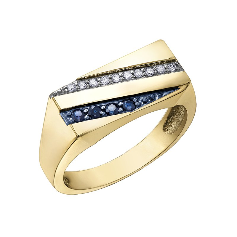 Corona Diamond Gents Ring