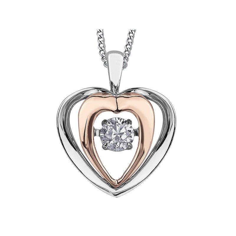 Corona Diamond Solitaire Pendant