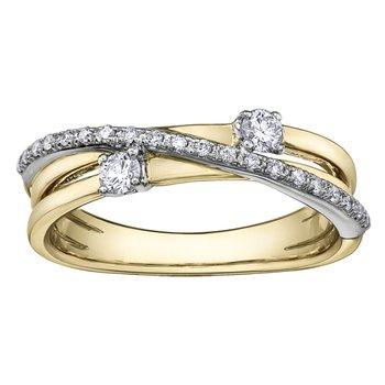 I am Canadian™ Diamond Ladies Ring