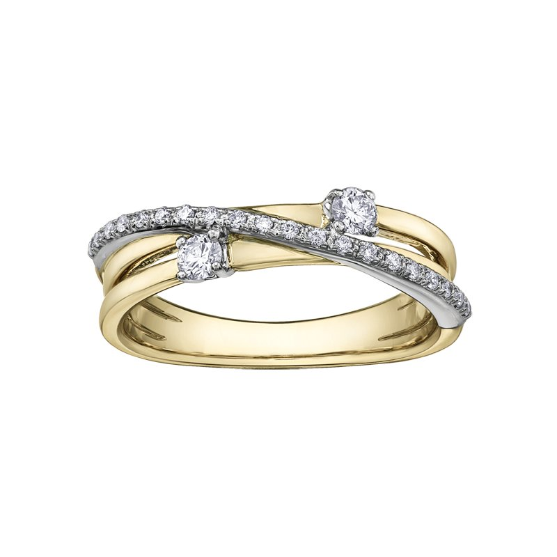 Corona I am Canadian™ Diamond Ladies Ring