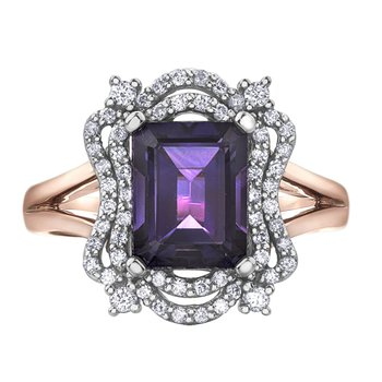 Amethyst Ladies Ring